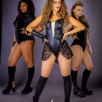 Beyonce Tribute Act - Nicola T with 2 dancers