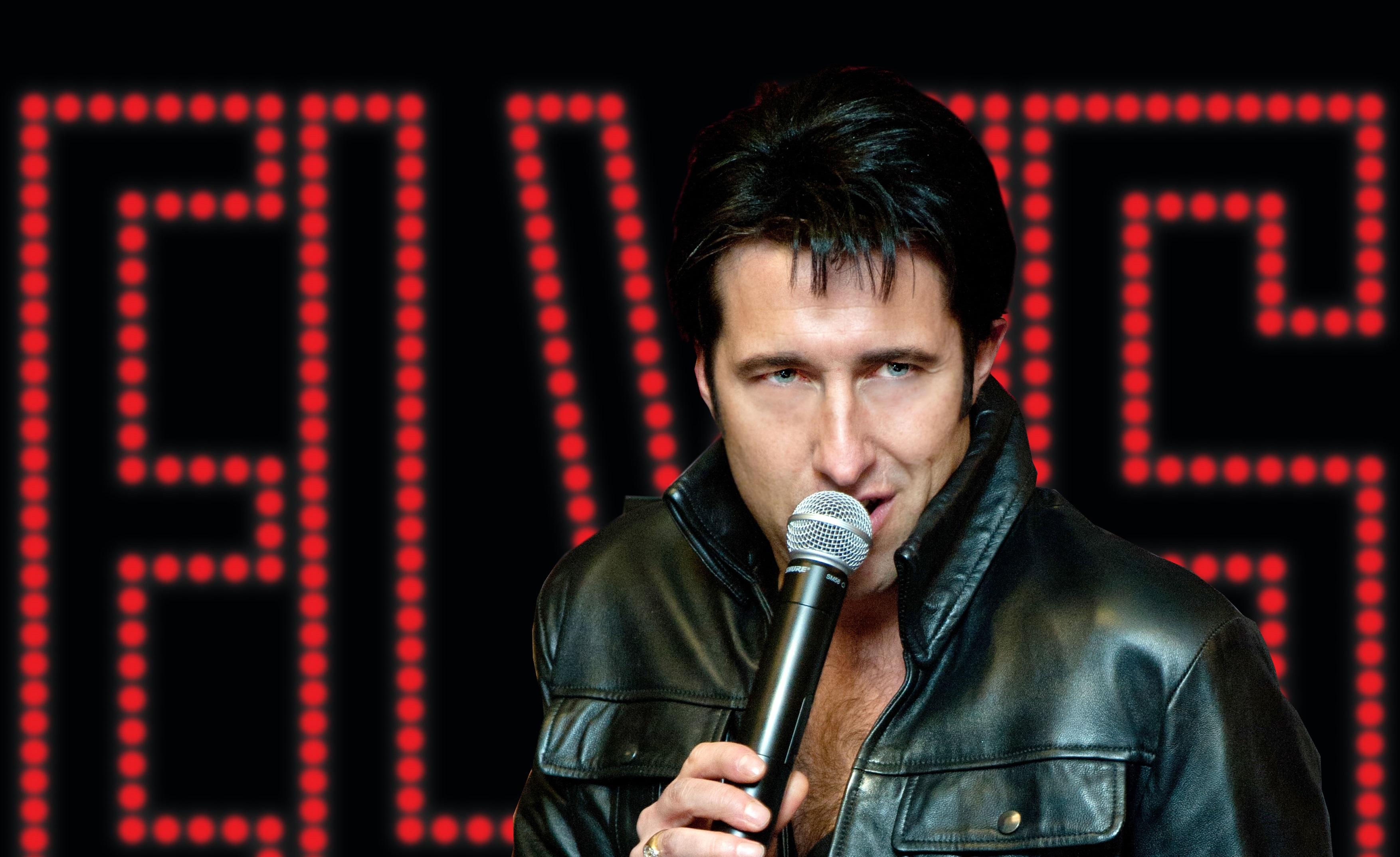 Elvis Tribute Act - Marcus Hallows