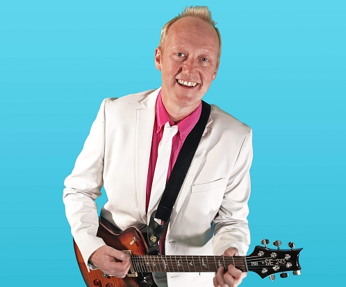 Simon Lee 80's Show - Male Guitar Vocalist