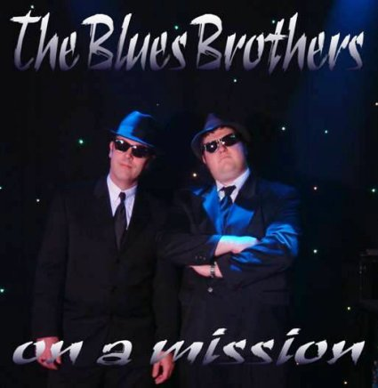 Blues Brothers Tribute Act - Men On A Mission