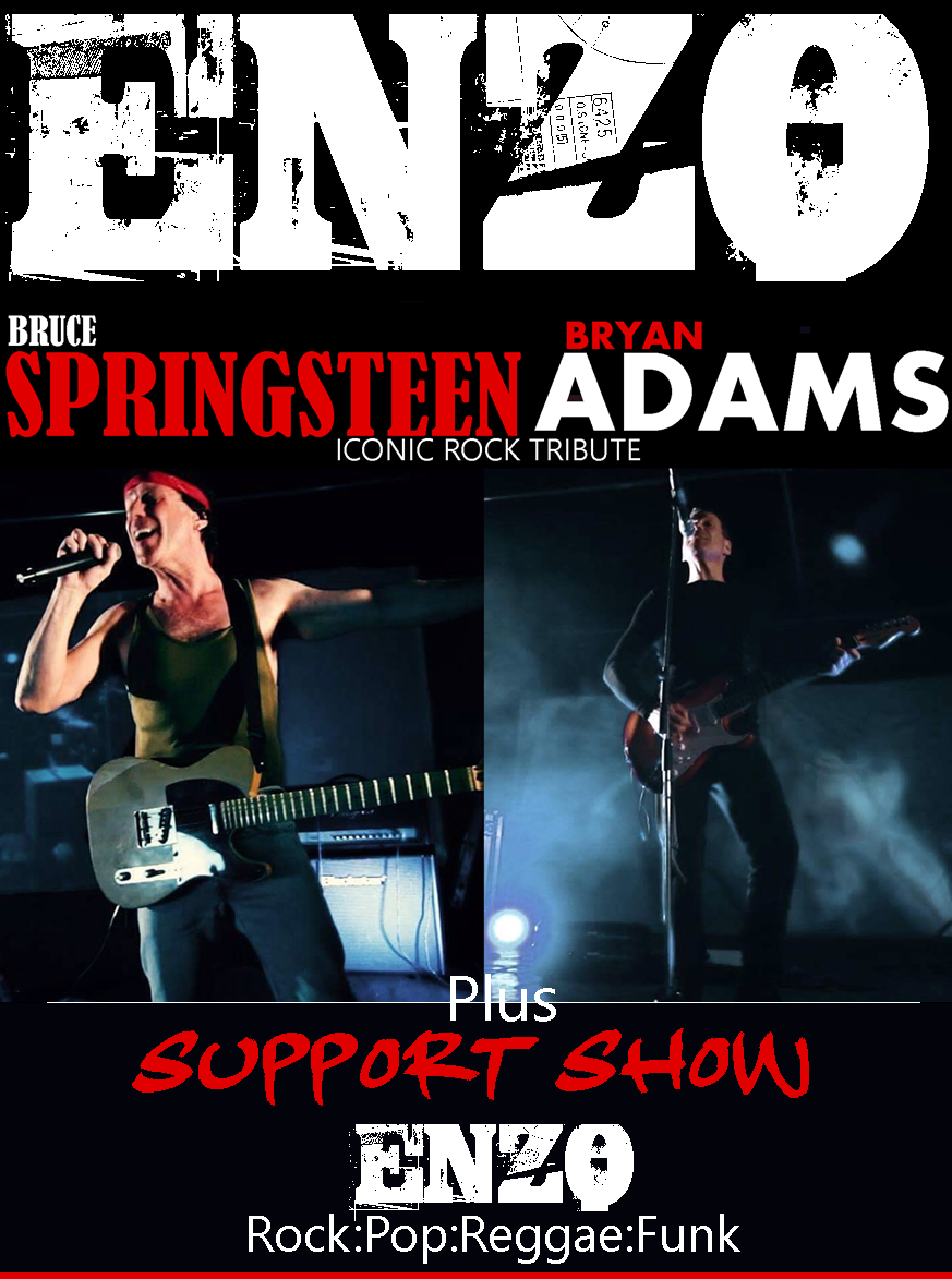 Brian Adams and Bruce Springsteen Tribute Act - Enzo