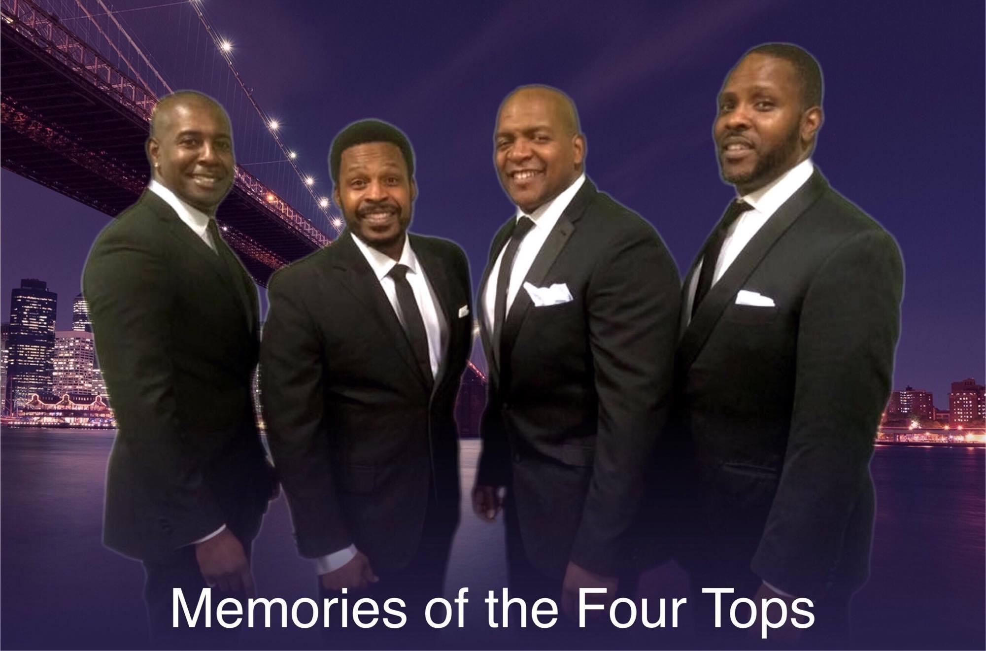 Memories of the Four Tops Tribute Band