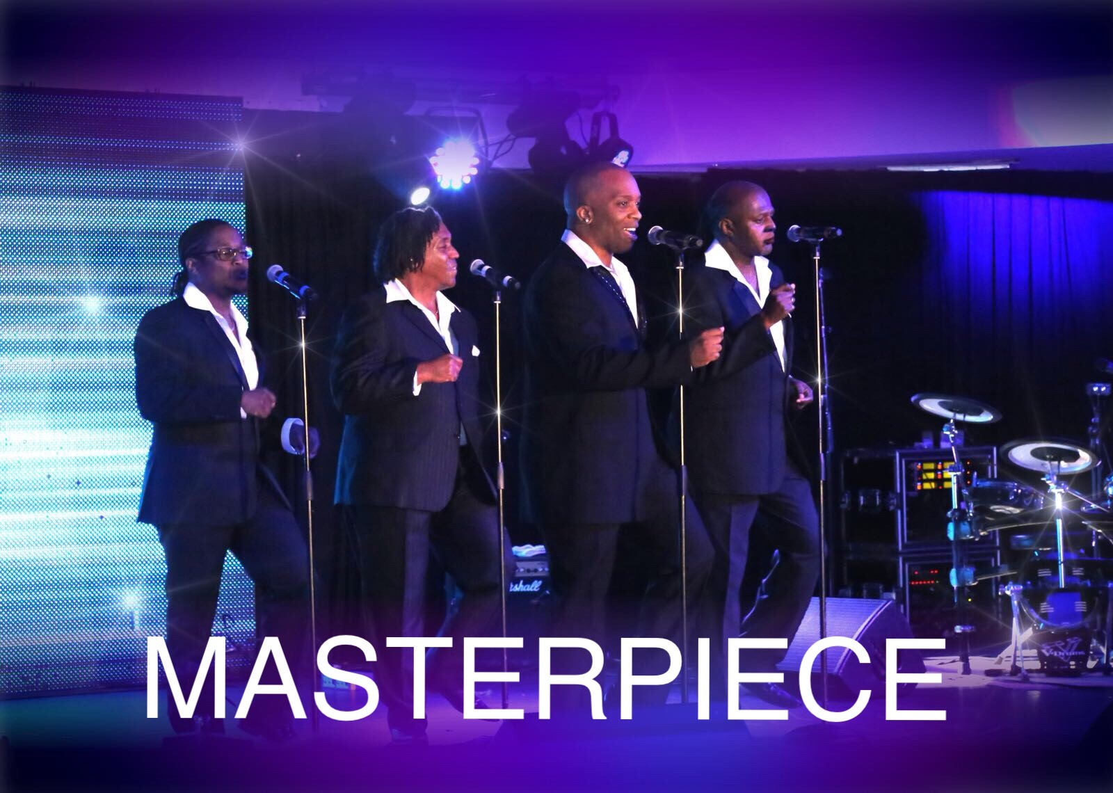 Temptations Tribute Band - Masterpiece