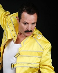 Freddie Mercury Tribute Act - Billy West - Qween Tribute Band