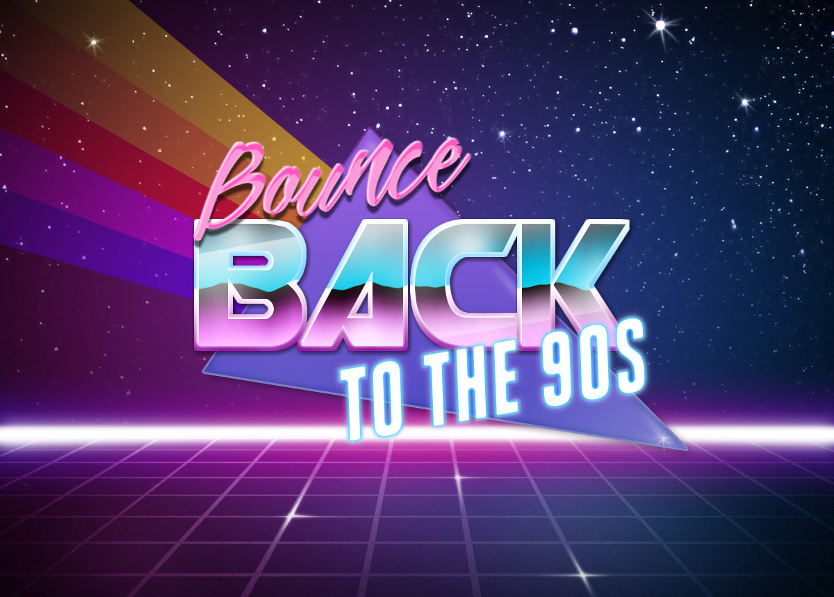 Bounce Back 2 The 90s - Tribute Act - The Best Of The 90s