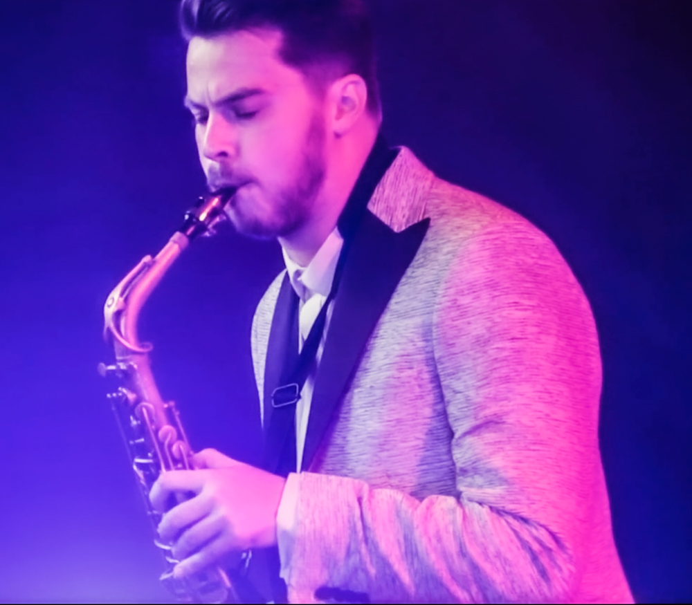 Ryan Grant - Young Male Saxophone Vocalist